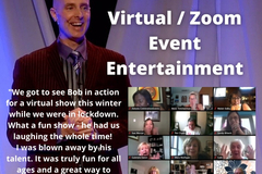 Speakers (Per Hour Pricing): Clean Comedy & Amazing Stunts - Virtual or Live Entertainment