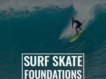 Individual pricing unit: Ombe Surf - Surf Skate Foundations Module online program