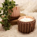 Selling with online payment: Emmett Candle Glass Jar Cozy Cover