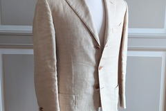 Selling with online payment: Sartorio summer jacket, linen/silk/cashmere UK38S