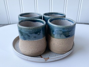 Selling: Blue Espresso (Set of 4)