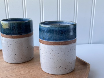 Selling: Ceramic Tumblers (Set of 2)