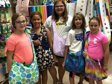 Class : Summer Sewing Camp for Kids Session #3 July27-29