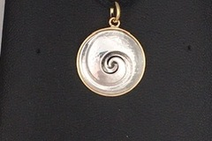 Selling with online payment: Spiral Pendant