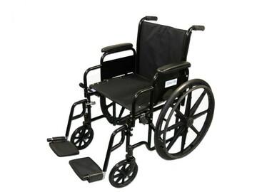 "SALE: Standard Economy Wheelchair 18"""
