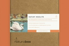 Vente: e-coffret cadeau NATURABOX NATUR'INSOLITE (130€)