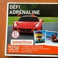 """Vente: Coffret Smartbox """"Défi adrénaline"""" (184,90€)"""