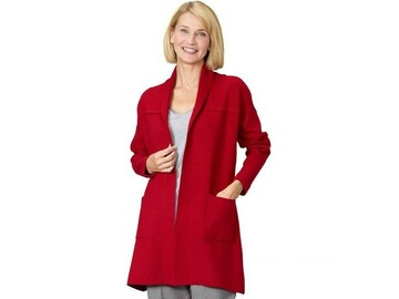 SALE: Women's 3/4 Sleeve Length Cardigan