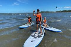 Hourly Rate: Fantastic fun Stand-up Paddle Hire in Moreton Bay
