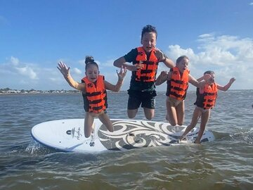 Hourly Rate: 4 X Beginners SUPs - Family adventure in the Bay!