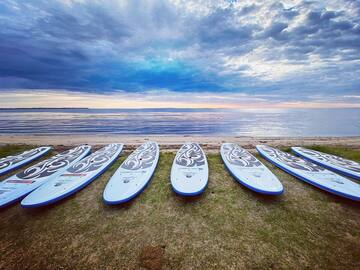 Weekly Rate: 2 X SUPs - Staying for the Week? Explore the Bay Together
