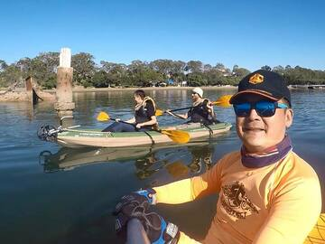 Hourly Rate: Single Kayak - Explore at your own pace
