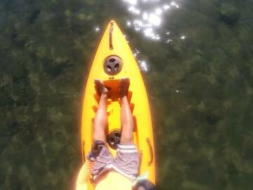 Weekly Rate: Weekly Special - Single Kayak perfect for cruising
