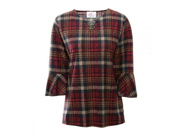 SALE: Ring-Keyhole Neck Adaptive Top for Women