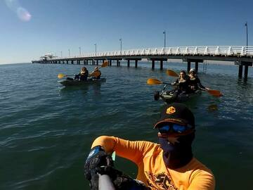 Hourly Rate: Fun for 2 on this Double Kayak in Moreton Bay