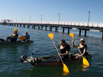 Daily Rate: Explore the Bay today in this Double Kayak
