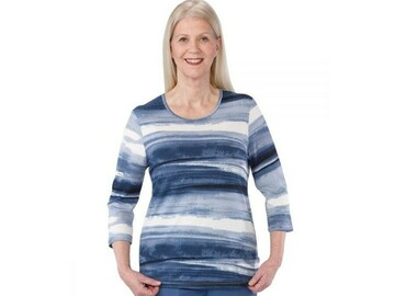 SALE: Women's Gorgeous Patterned Adaptive Top