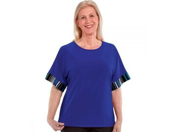 SALE: Easy Dressing Top with Extra Deep Arm Holes