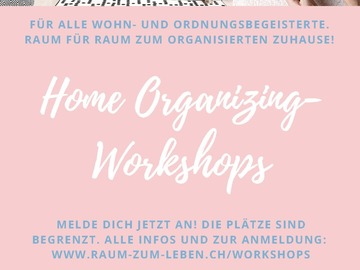Workshop Angebot (Termine): Leichter wohnen - The Home Detox