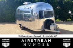 For Sale: 1969 Airstream Caravel - Cool Vintage Vibe and Road Ready