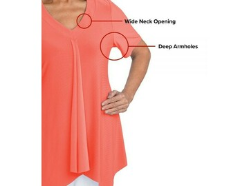 SALE: Women's Easy Self Dressing Fashion Top Great for Arthritis