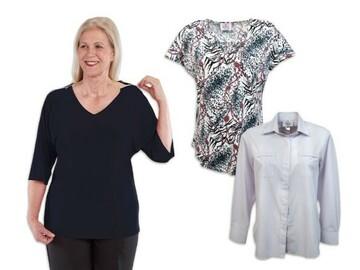 SALE: Women's Always Chic Self Dressing Tops Set of 3