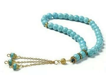 Selling with online payment: Turquoise Tasbih