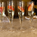 For Sale: Personalised Clear Reusable Party Flutes (SET OF 10)