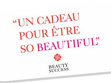 Vente: Carte cadeau Beauty Success (89€)