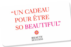 Vente: Carte cadeau Beauty Success (89€)