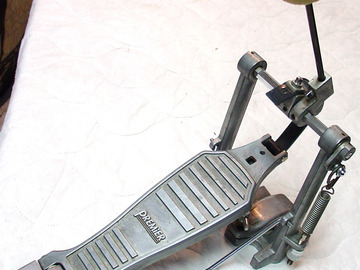 Selling with online payment: Vintage PREMIER bass drum pedal