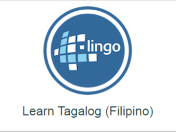 Offering with online payment: TAGALOG ABSOLUTE BEGINNER LESSON 1