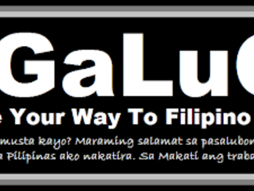 Offering with online payment: TaGaLugin: Let's Make Your Way To Filipino Language タガルギン:フィリピン語に