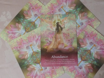 Selling: ABUNDANCE Oracle Card Psychic Reading: FOCUSED Card Reading