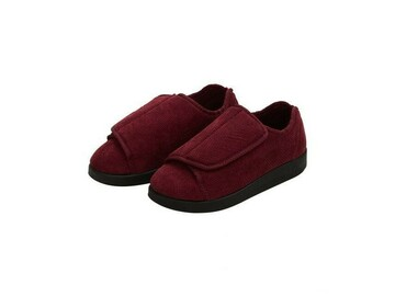 SALE: Womens Extra Extra Wide Easy Closure Slippers