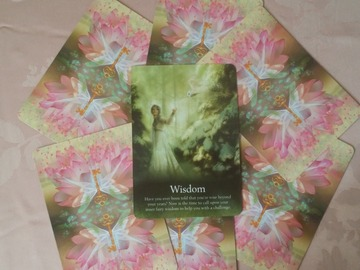 Selling: WISDOM Oracle Card Psychic Reading: FOCUSED Card Reading