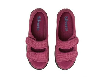 SALE: Womens Easy Closure Sandal for Indoors & Outdoors