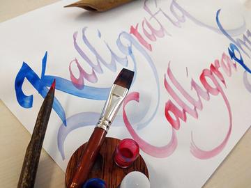 Työpajoja tarjolla: Kalligrafiaa kevein rantein