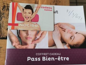 Vente: Carde cadeau Nocibe Institut (129€)