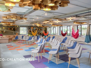 Verhuren per dag: Co-Creation Hall, get out of your routine: come and play!