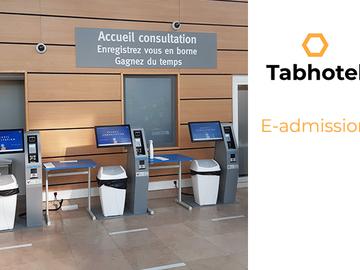 Solutions sur-mesure: E-admission sur borne et mobile