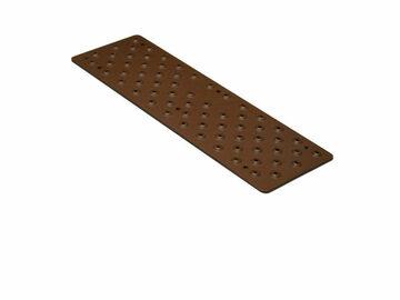 "SALE: Handi Treads Non Slip Aluminium Pads Brown | 3.75"" x 12"""