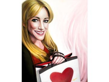 """Sell Artworks: Limited Edition Canvas Print """"Lots of Love"""""""