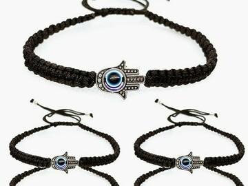 Liquidation / Lot de gros: 500 count lot Evil Eye Protection Bracelet