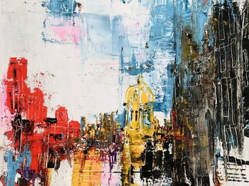Sell Artworks: Red London