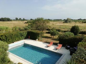 NOS JARDINS A LOUER: Jardin de 1000 m2 avec piscine