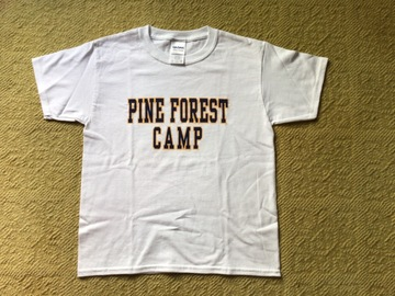 Selling A Singular Item: Youth Small Pine Forest Camp t-shirt