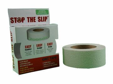 SALE: Stop-the-Slip Non-Slip Grit Tape, Glow-in-Dark, 30 foot x 2 inch