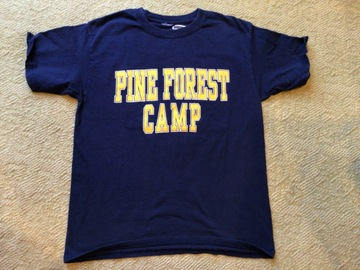 Selling A Singular Item: Youth Medium Pine Forest t-shirt