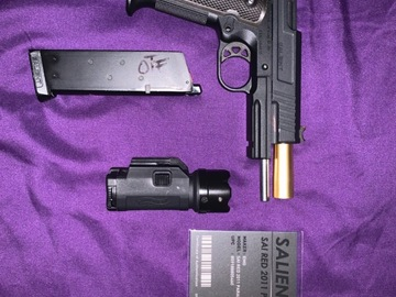 Selling: EMG / SALIENT ARMS INTERNATIONAL RED 1911